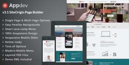 Nulled Appdev v3.6 – Mobile App Showcase WordPress Theme - http ...