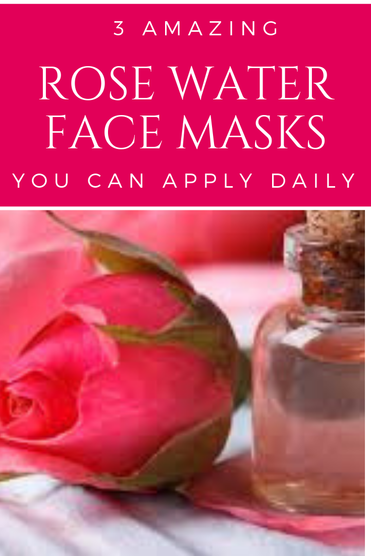 Use These Rose Water Face Masks As Per Your Skin Type Skincare Diyfacemask Diyskincare Facemask Skincareface Rose Water Face Water Face Mask Rose Water