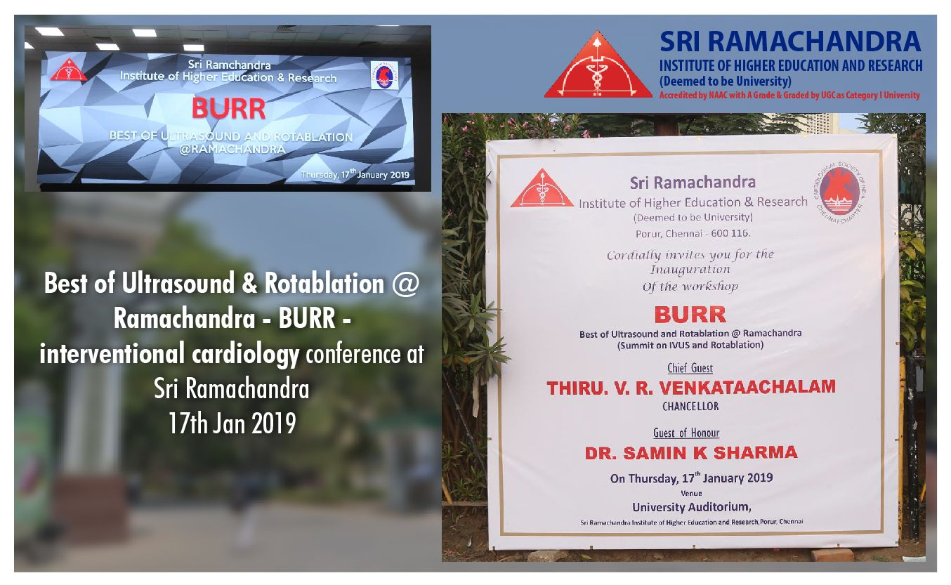 BURR Interventional Cardiology Conference Held at Sri