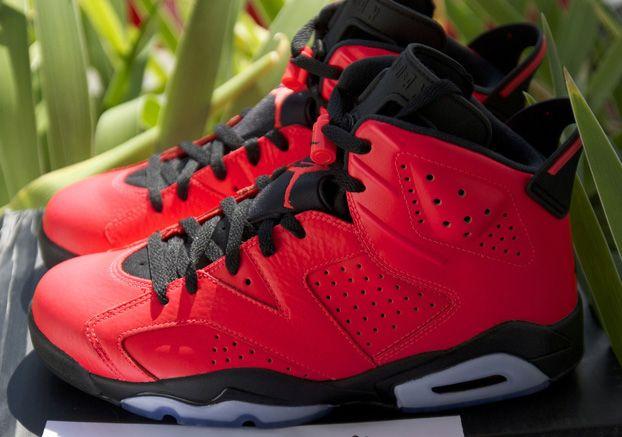 Air Jordan 6 Infrared 23 Another Look Nikeblog Com Air Jordans Nike Air Jordan Shoes Jordan Shoes Outlet