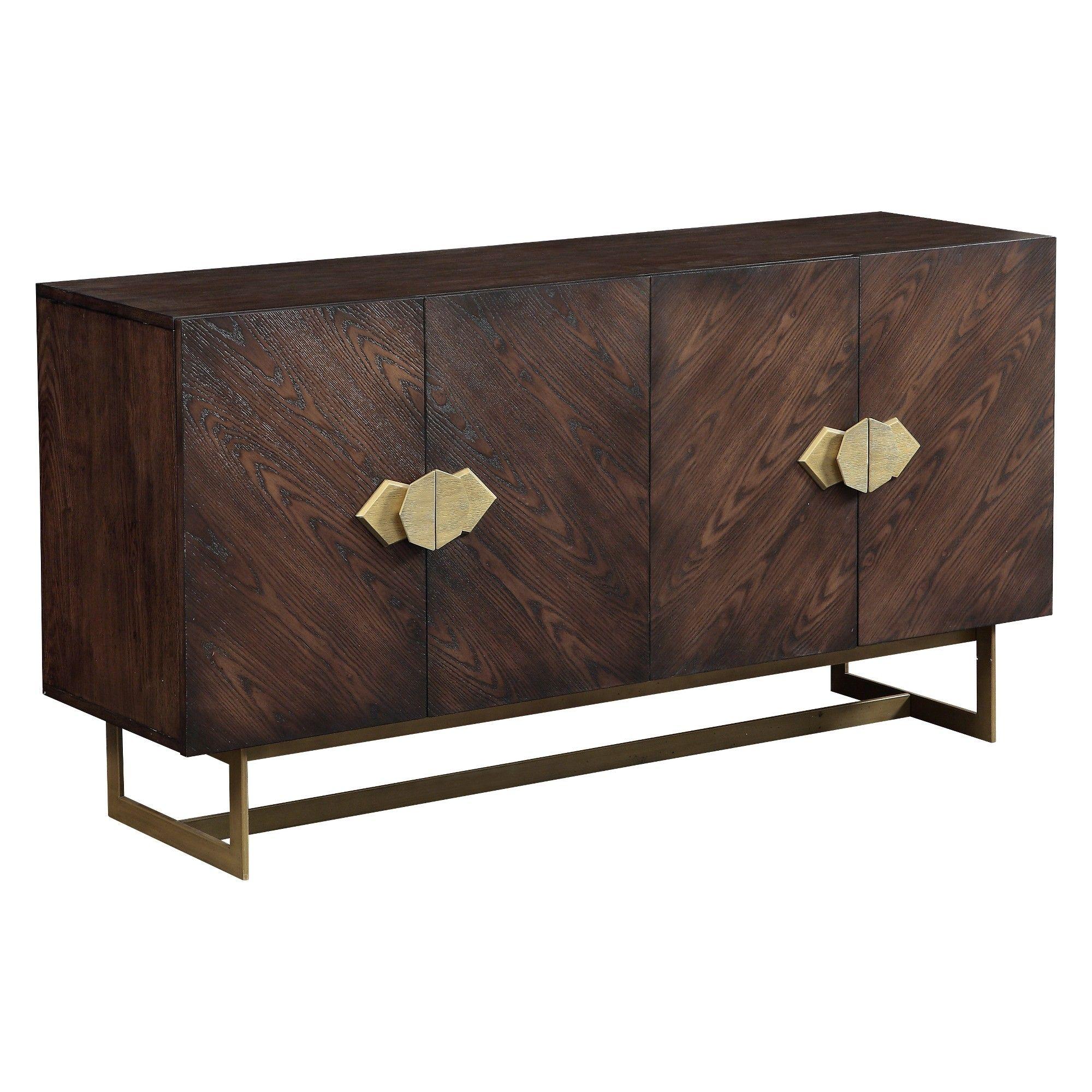 Christopher Knight Home Braxton Media Credenza Brown Furniture