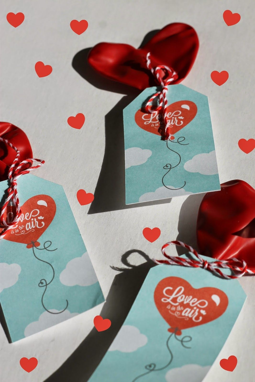 Little Blue House Love Is In The Air Free Printable Valentine