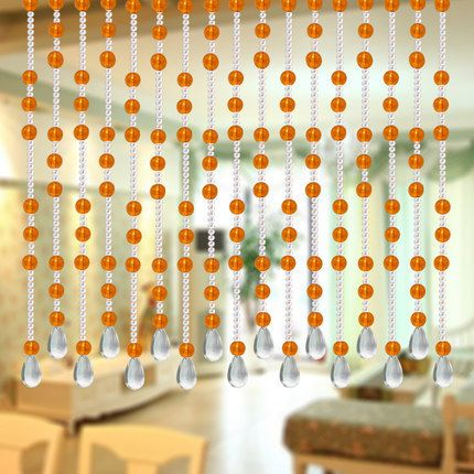 24 m/lot glass bead curtain Full wear not entanglement home decoration Windows porch partition door curtain crystal curtain