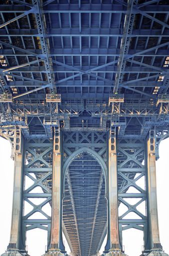 """Check out my art piece """"Manhattan Bridge In New York City"""" on crated.com"""