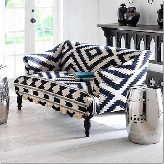 A Fun Sofa Home Decor Upholstered Furniture Home Furniture