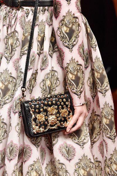 Dolce & Gabbana at Milan Spring 2015 (Details)
