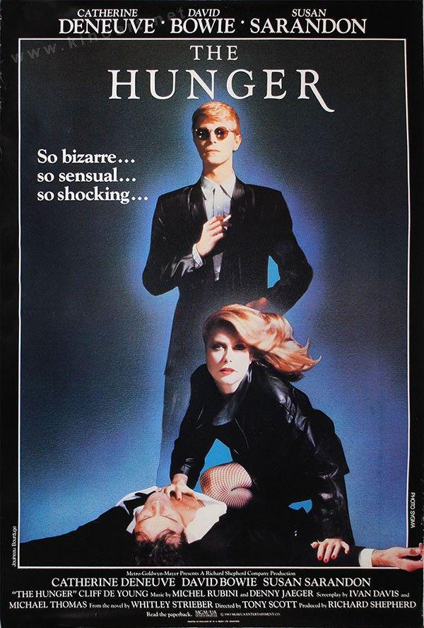 The Hunger 1983 Affiche De Film Cine Film