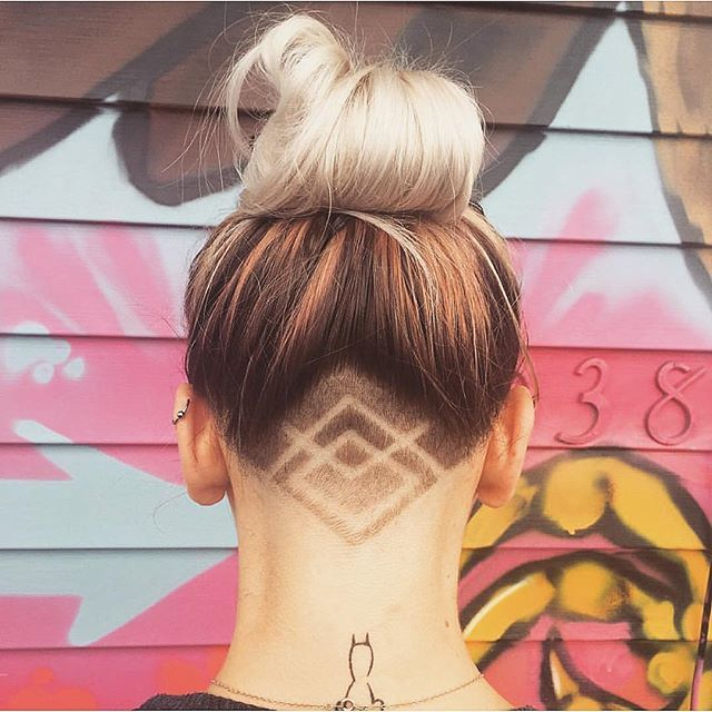 Astonishing Hidden Hair Tattoo Ideas Undercut