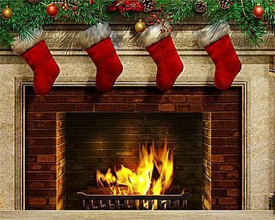 The Best Free Christmas Wallpapers For Your Computer Christmas Wallpaper Christmas Fireplace Christmas Wallpaper Free