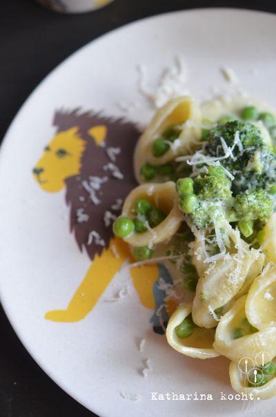 Heute wird's wild: Muschelnudeln mit viel Gemüse, und alles hübsch...   Katharina kocht   Bloglovin'