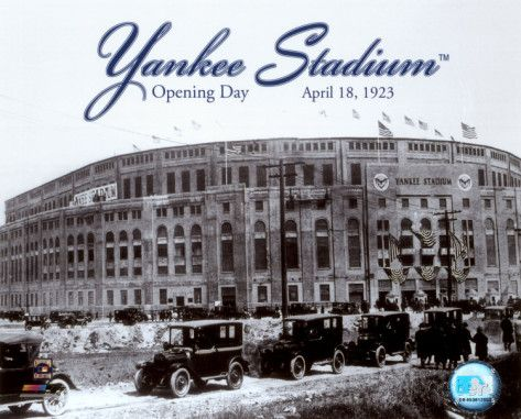 Mlb Yankee Stadium 1923 Opening Day Photo Stadiums
