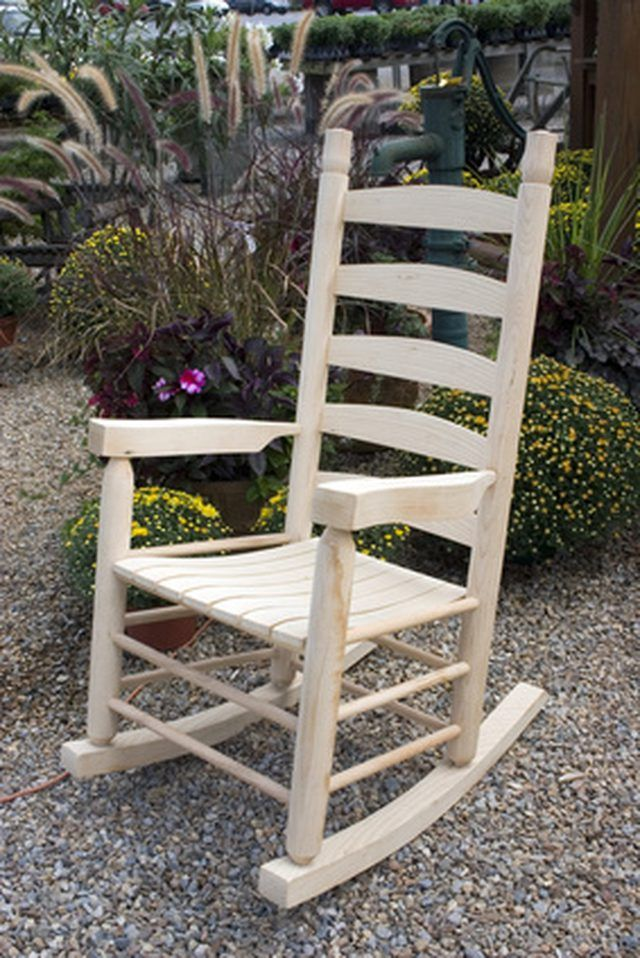 furniture chair moore style wooden american wm rocking