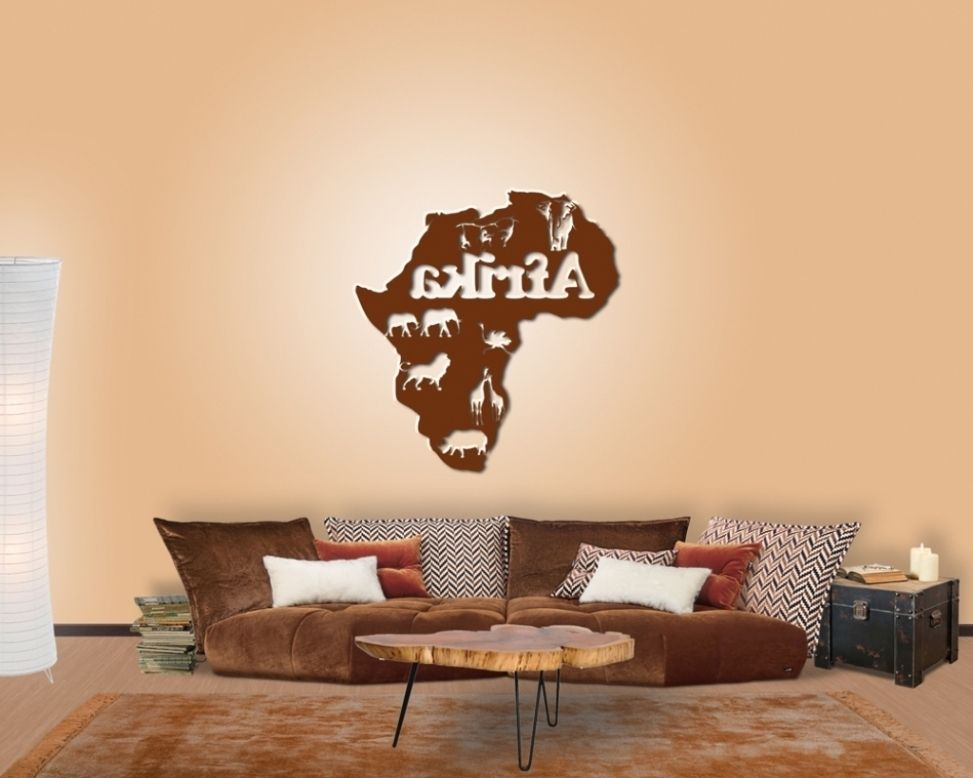 Neu Wohnzimmer Afrika Style