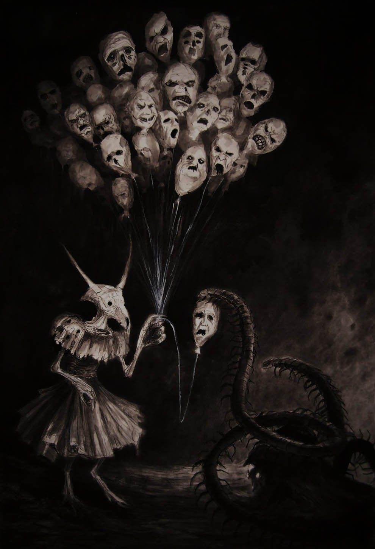 El arte siniestro, oscuro e infernal del misterioso artista ruso Vergvoktre