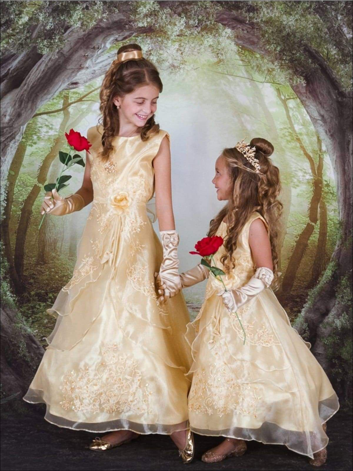 Belle From Beauty And The Beast Inspired Princess Dress Beauty
