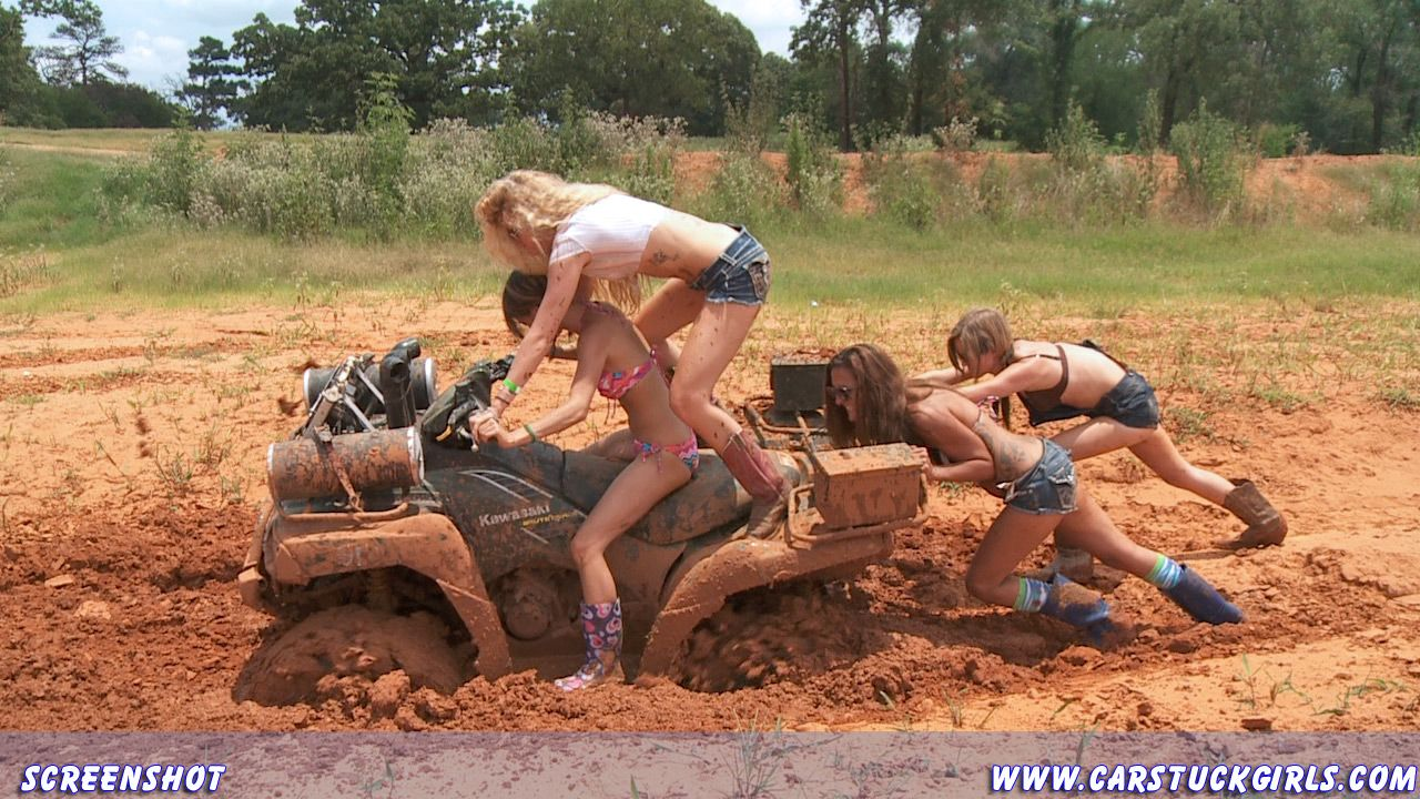 PLAYING IN MUD  GIRLS  ATVs  Pinterest  Mud In and Search