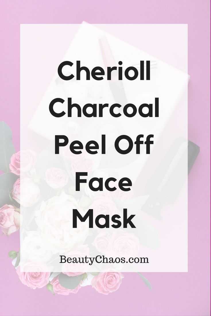 REVIEW: Cherioll Peel-Off Face Mask | BeautyChaos com