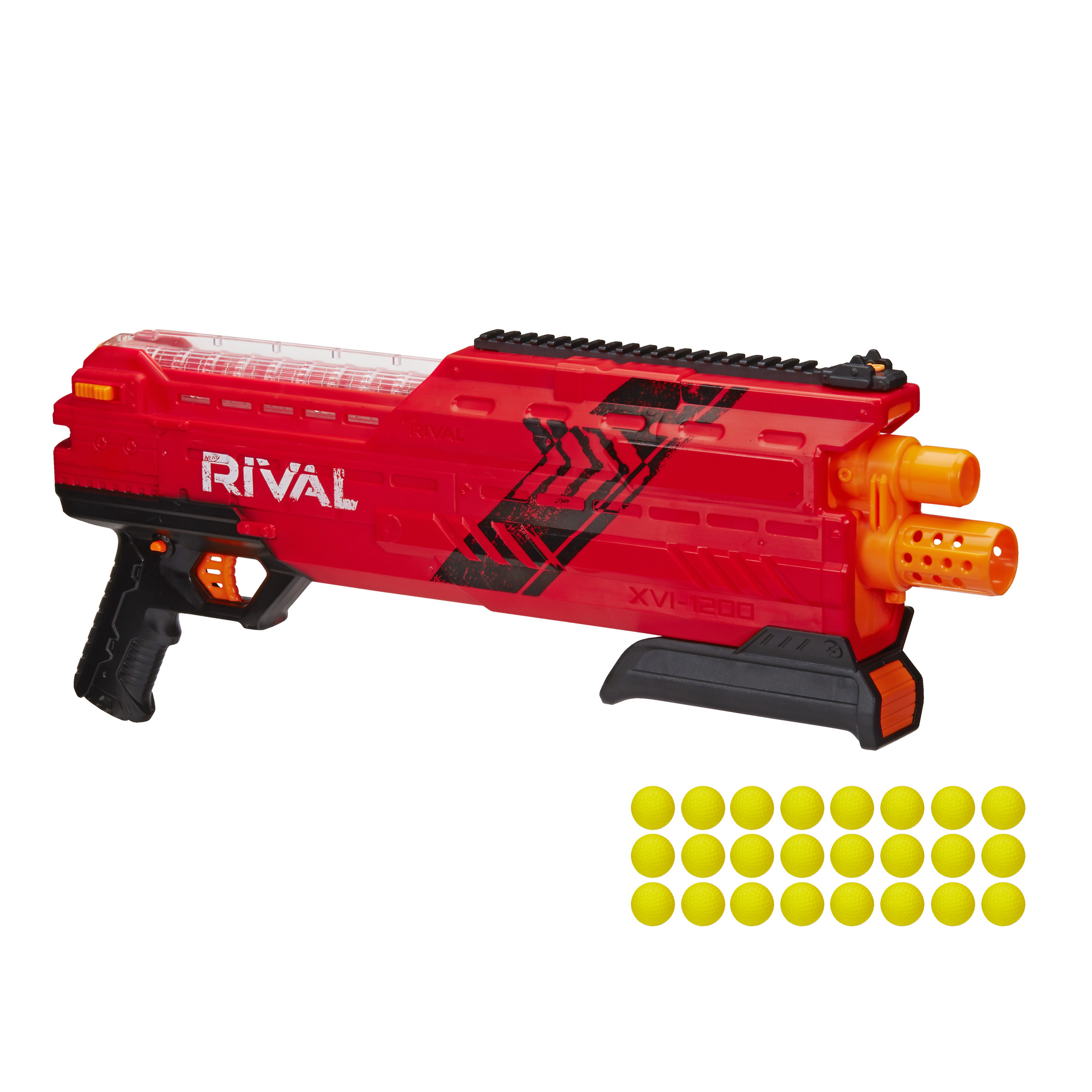 Nerf Rival Atlas XVI 1200 Blaster Red Toy Weapons & Gad s