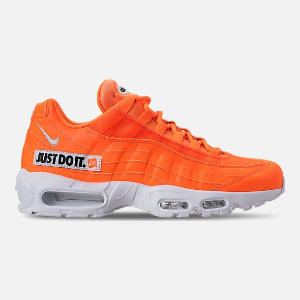 905cd896d96 NIKE AIR MAX 95 SE JUST DO IT.  TOTAL ORANGE WHITE-BLACK  AV6246-800 ...
