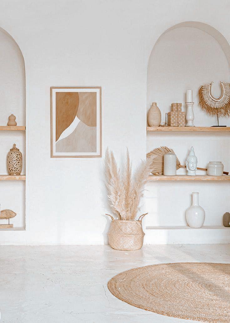 rustic luxe modern minimal home design