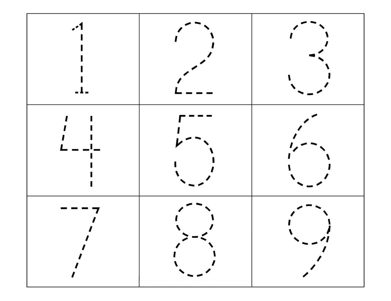Tracing Numbers On Tape Number Worksheets Tracing Worksheets Shapes Worksheets