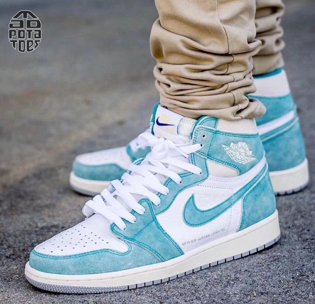 "Nike Air Jordan 1 Retro High OG ""Turbo Green""   Sneakers ..."