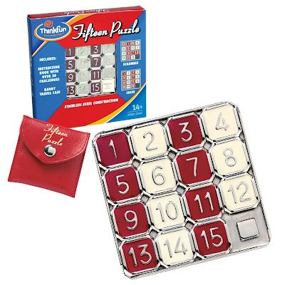"""Toys are Tools recommends Fifteen Puzzle as a perfect addition to your """"busy box!"""""""