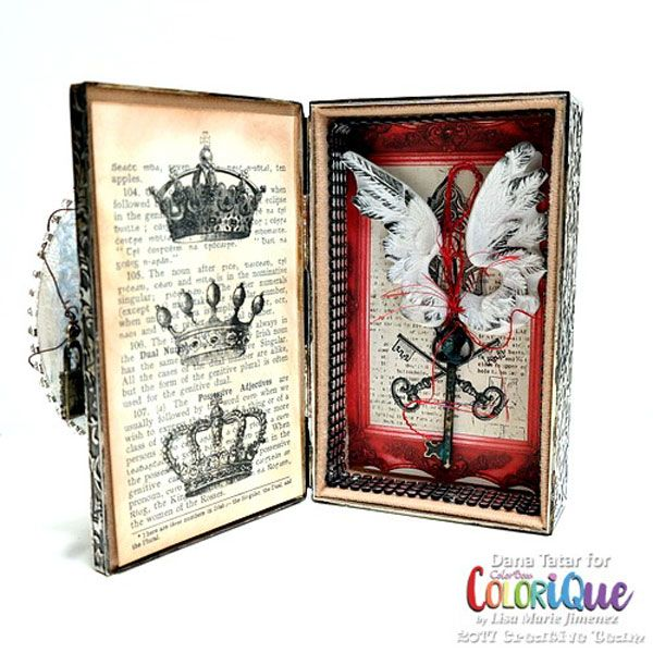 Fractured Fairy Tale with ColoriQue Ink and Relics and Artifacts Chapter 4