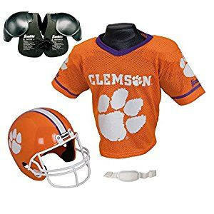 info for 8bf8f 0ba3b Amazon.com : Clemson Tigers Youth NCAA Helmet and Jersey Set ...