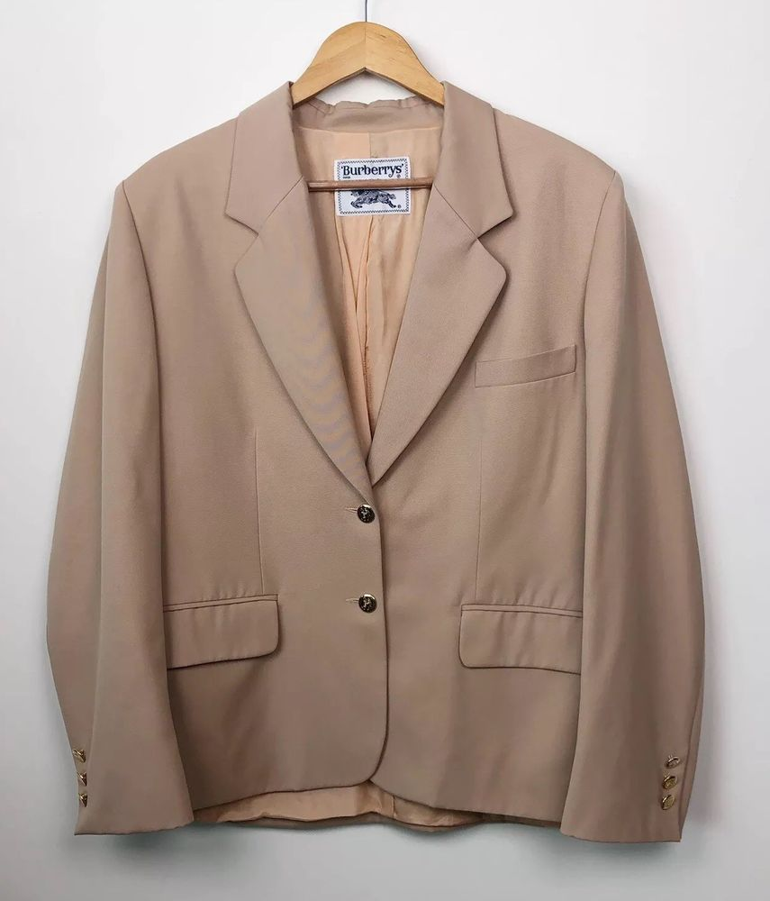 fb276758cb3 Burberrys Mens 100% Wool 2 Gold Button Blazer Sz 48 Made In France Sport  Coat #fashion #clothing #shoes #accessories #mensclothing  #suitssuitseparates (ebay ...