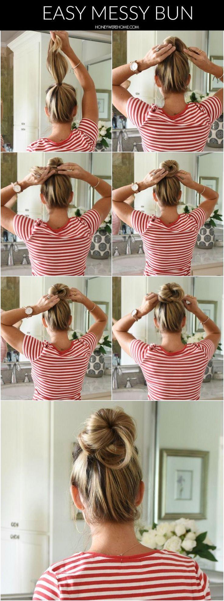 Einfache Sommerfrisuren Heute teile ich meine klassischen Sommerfrisuren mit … - Lockige Frisuren Blogs
