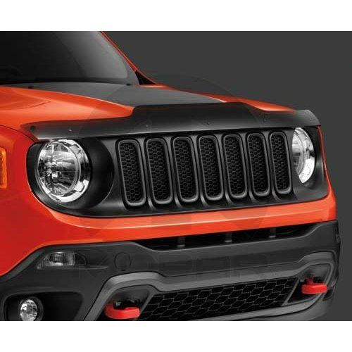 Jeep Renegade Front Air Deflector Bug Shield With Jeep Logo Mopar Oem The Hood Compras