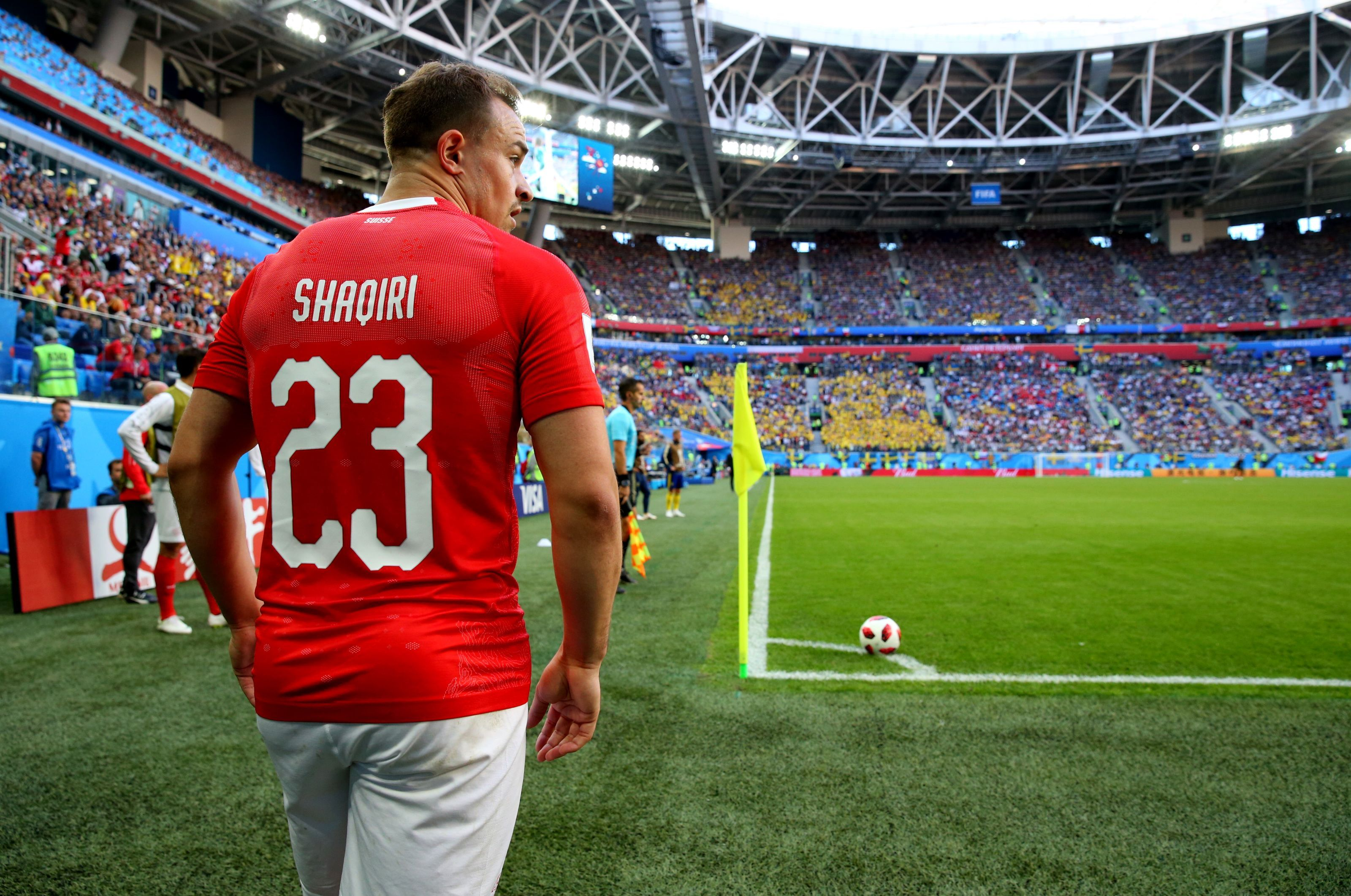 Liverpool Look Poised To Seal A Transfer Move For Xherdan Shaqiri From Stoke City His Arrival Will Mean The Final Nail In The Co Fifa World Cup Fifa Liverpool