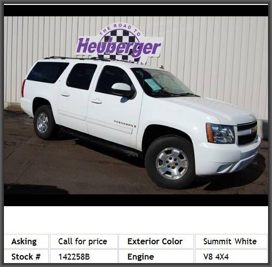2009 Chevrolet Suburban Lt 1500 Suv Power Drivers Seat Anti Theft