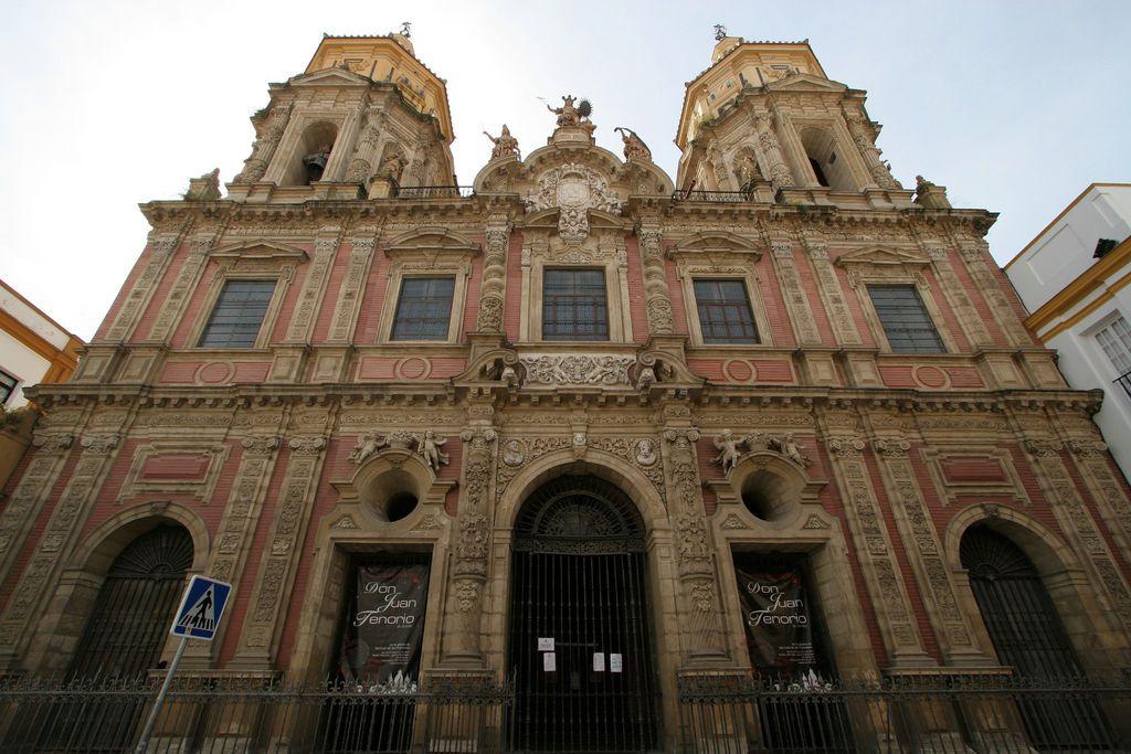 Iglesia De San Luis De Los Franceses Sevilla Leonardo De Figueroa