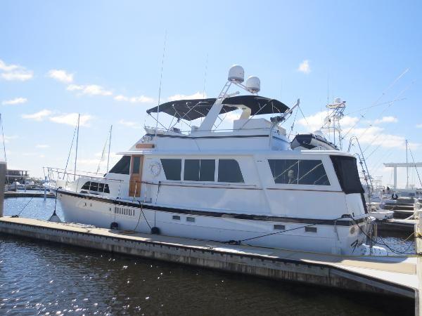 Used 1977 Hatteras 58 Motor Yacht (2013 Custom), Pensacola