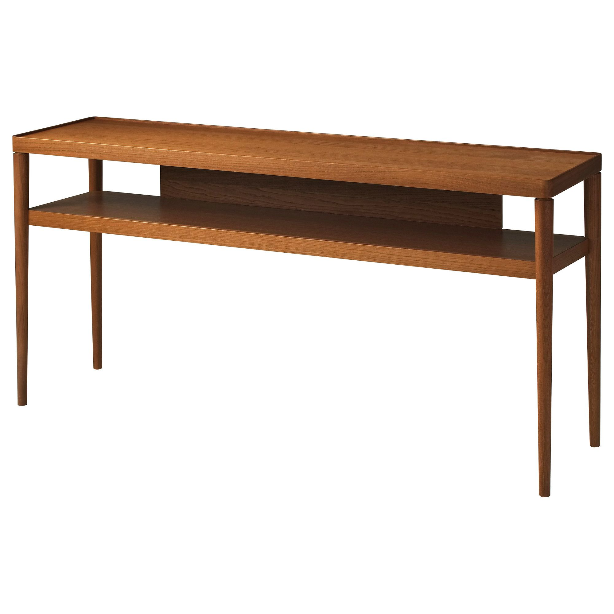 IKEA STOCKHOLM Console table golden brown IKEA Interior