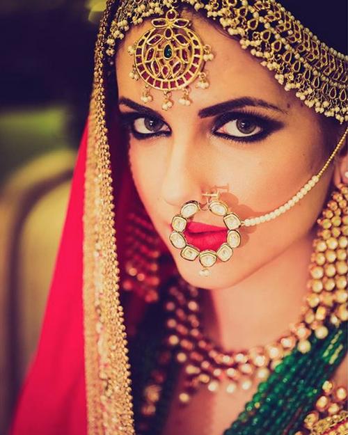 Viyahshaadinikkah Bridal Nose Ring Pakistani Bride Indian Bride