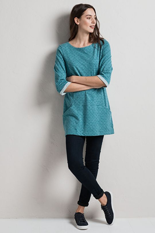 da14301c552 Trewoon Tunic — Seasalt Cornwall | Casual Outfits | Cotton tunic ...