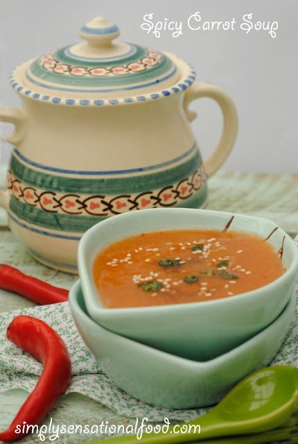 simply.food: Spicy Carrot Soup ~5-2 Diet