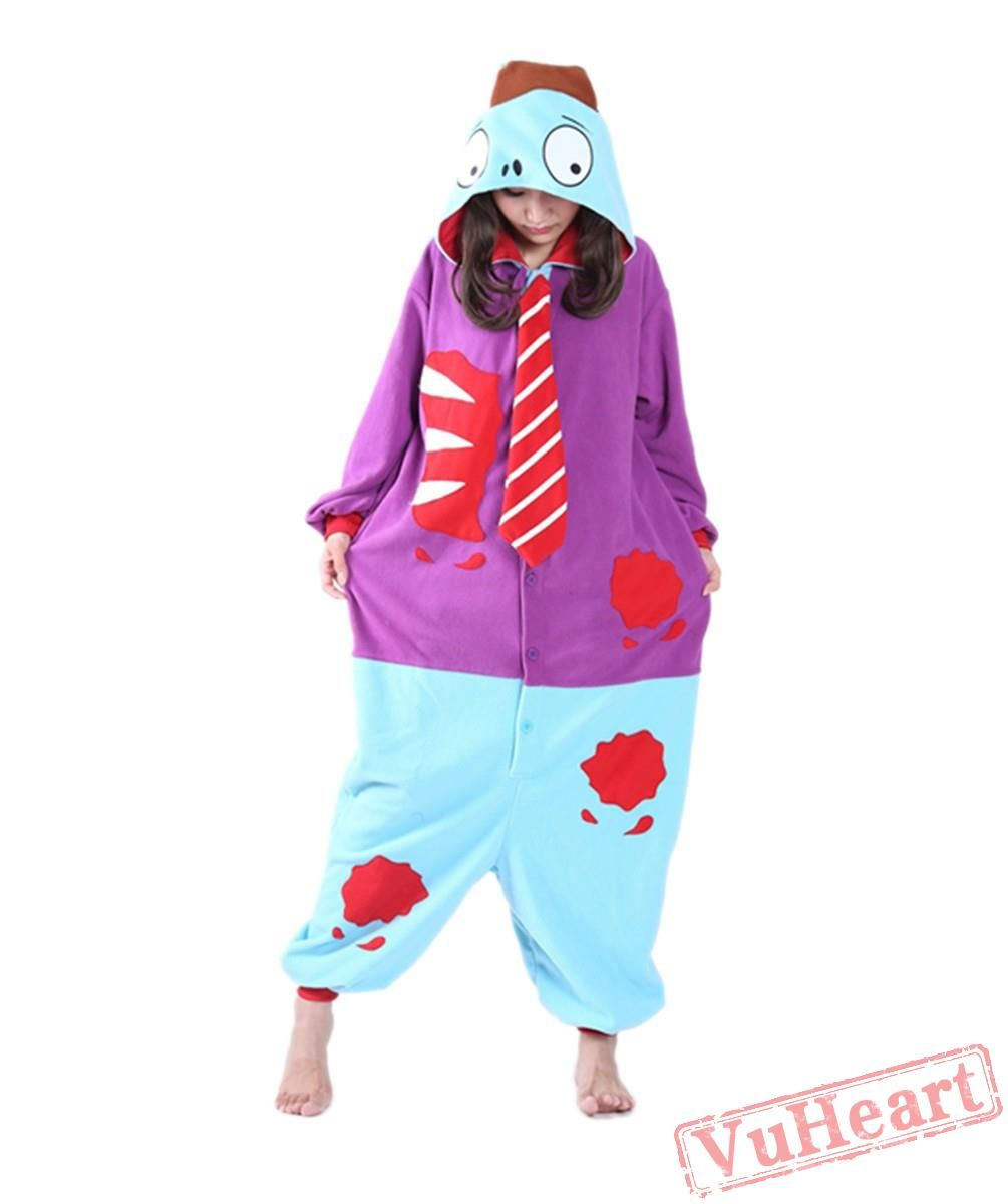 fb2ce686 Plants Vs Zombies Kigurumi Onesies Pajamas Costumes for Women & Men ...