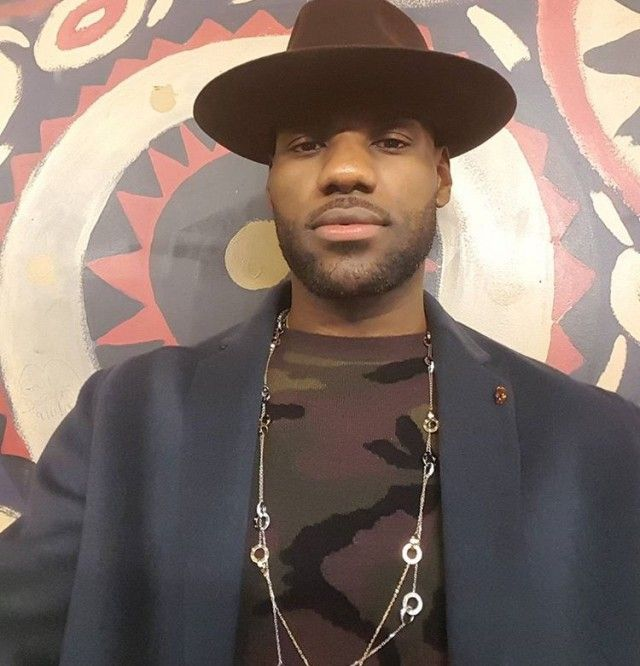 1ad213a7575 LeBron James In Cartier – Instagram Photo