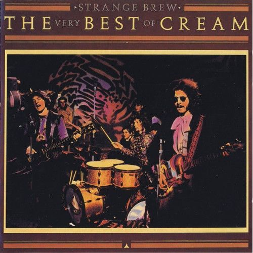 Cream Strange Brew The Very Best of Cream - compact disc