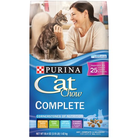 Purina Cat Chow Complete Dry Cat Food 15lb Cat Chow