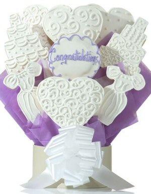 Wedding Wishes Cookie Arrangement Delete