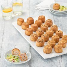 Tesco Easy Entertaining 24 Mini Variety Pork Pie Platter