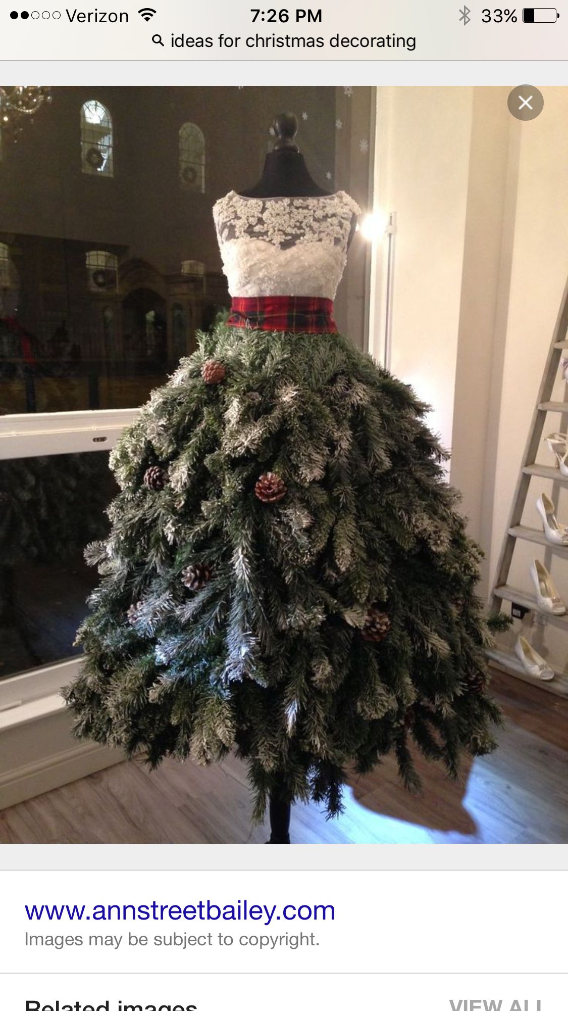 Dress out of christmas pine decorating for the holidays from nk