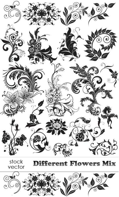 Рисунки и фото с растительными узорами