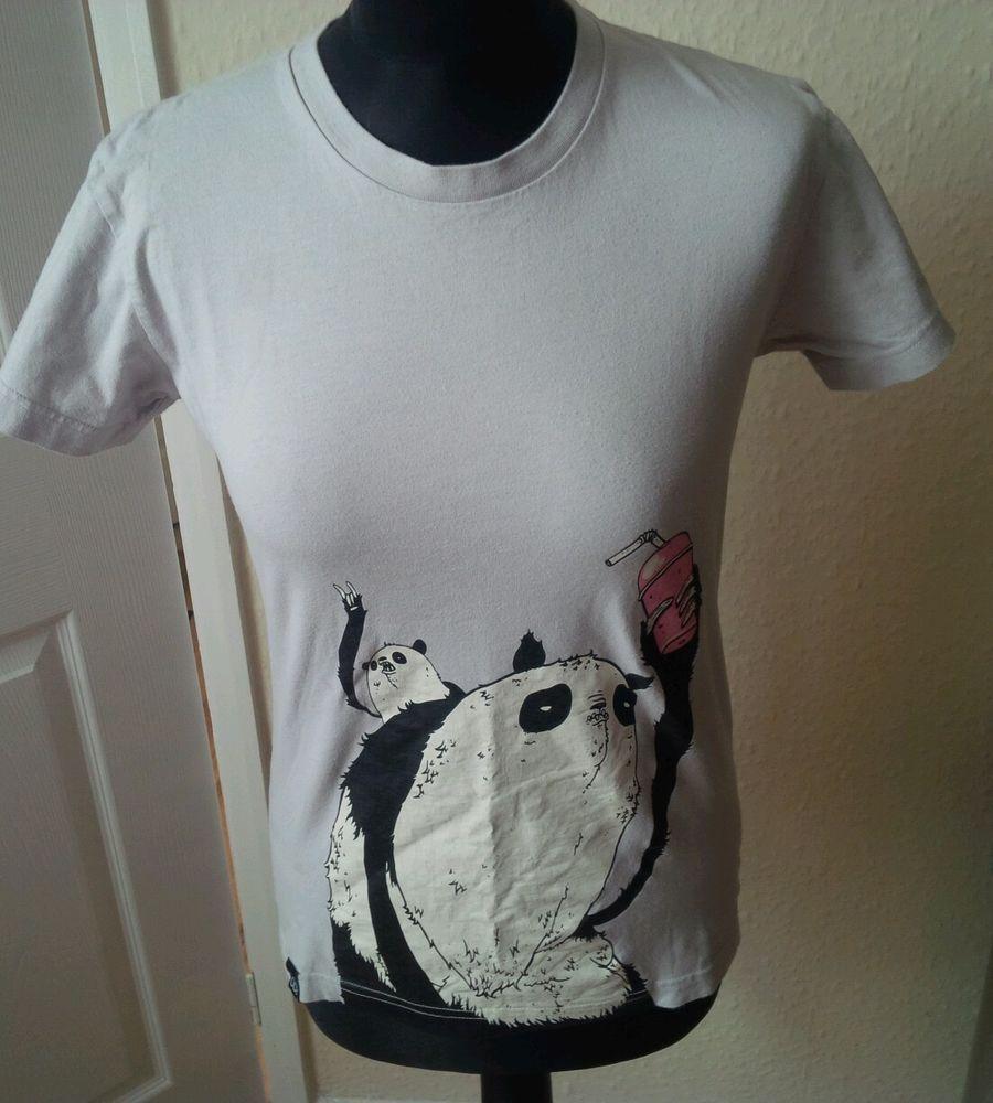 DROP DEAD CLOTHING PANDA MILKSHAKE T-SHIRT TEE LARGE WOMENS OLI SYKES BMTH RARE