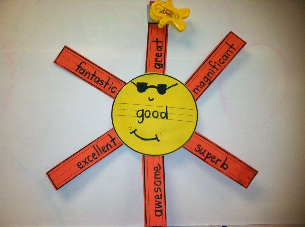 Mrs. Wheeler's First Grade Tidbits: Sunny Synonyms